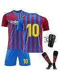 SUSIE B-ARC-a 10# M-ESS-i Kit,Jugadores-Camiseta y Pantalón Infantil Primera Equipación Temporada 2020/2021,Club fútbol