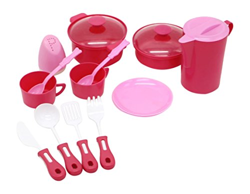 Little Treasures Mini Pot amp Pan Kitchen Pretend Play Cookware Playset Toy