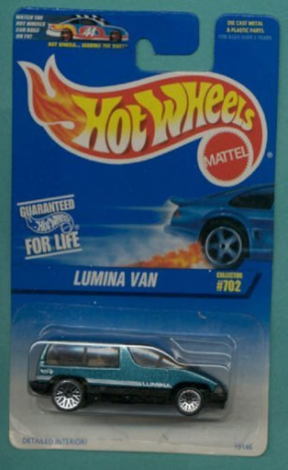 Hot Wheels 1997 Green & Black Lumina Van 1 64 Scale Collectible Die Cast Collector Car  702