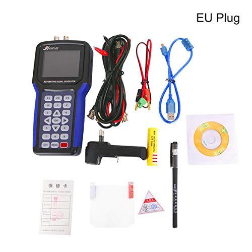 JohnJohnsen ASG102 Generadores de señal Digital de Mano 2 Canales JHASG102 Kit de generador de señal automotriz con función de Datos Can (Negro)