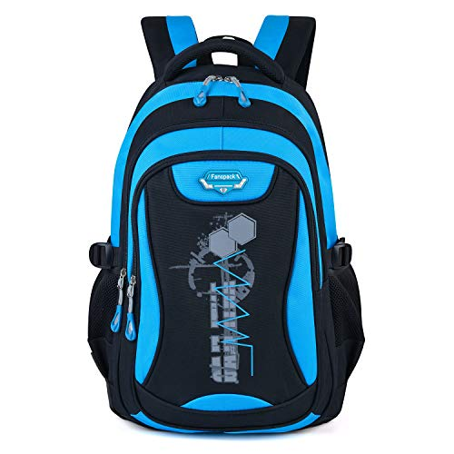 Schulrucksack Jungen, Fanspack Schulrucksack Jungen Teenager Schulranzen Jungen Rucksack Teenager Backpack Rucksäcke School Bag Schultasche Tasche Travel Sport Outdoor Rucksack für Schüler