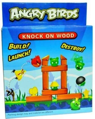Shree sai Traders Angry Birds Knock on Wood Game for Kids . Party & Fun Games Board Game