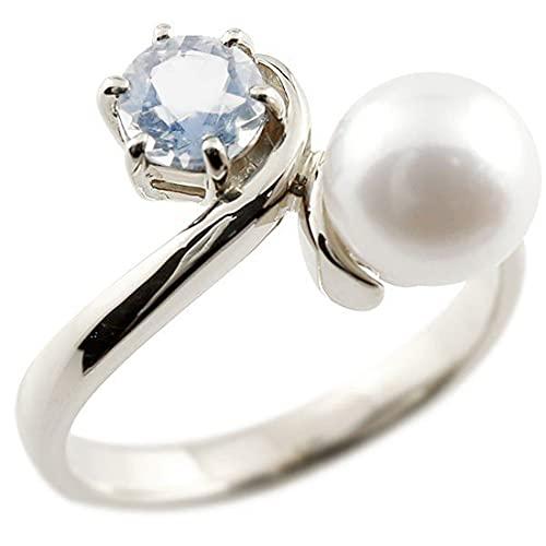 [アトラス]Atrus リング レディース pt900 プラチナ900 ブルームーンストーン 真珠 フォーマル 指輪 宝石 22号