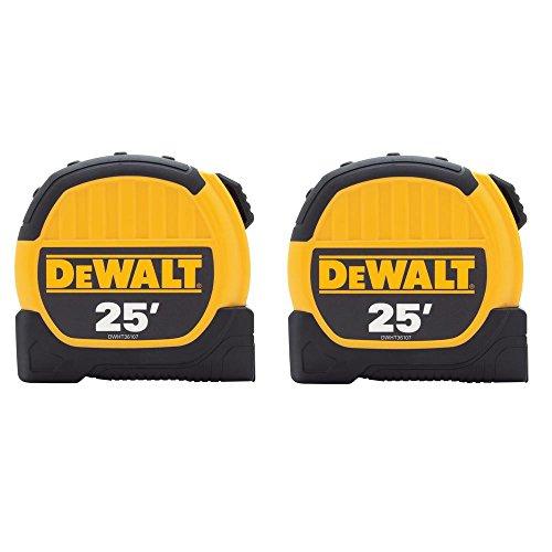 dewalt measuring tapes DEWALT 25 ft. Tape Measures (2-Pack)