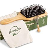 Best Hairbrush For Men - Boar Bristle Hair Brush Men Detangling Hair Brushes Review