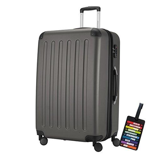 Hauptstadtkoffer - Spree Hartschalen-Koffer-XL Koffer Trolley Rollkoffer...