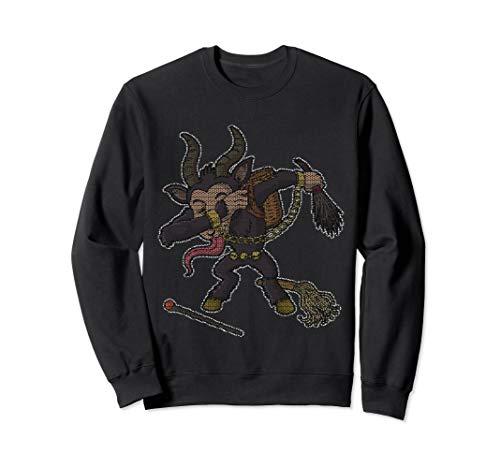 Dabbing Krampus Ugly Christmas Sweater Sweatshirt