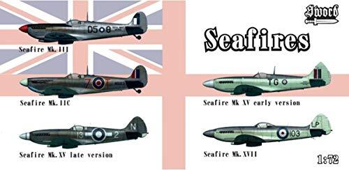 Sword ソード 1/72 イギリス海軍 シーファイア 5キット入りボックスセット プラモデル SWD72129 (メーカー...