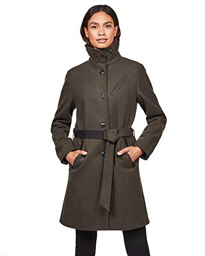 G-STAR RAW Damen Empral Wool Mantel, Grau (Asfalt 995), (Herstellergröße:XXS)
