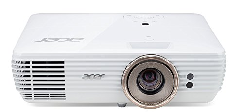 Acer V7850 Home Cinema Projector (4kUHD Resolution, 2100 Lumens, 1000000:1 Contrast Ratio)