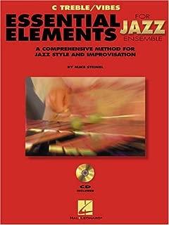 Essential Elements For Jazz C Treble/Vibes Bk/Online Audio