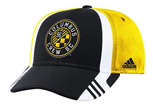 adidas Columbus Crew MLS 2017 Authentic Team Structured Adjustable Hat