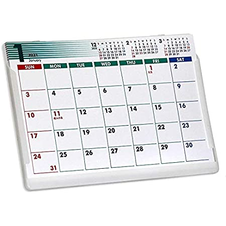 ポストカードサイズ卓上カレンダー(NewColor)
