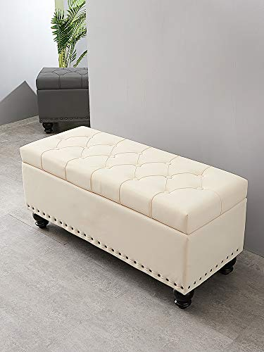 HJJ Long Sofa Stool Scratch Proof Bed Tail Stool Storage Household Door Shoe Changing Stool Fitting Room Cloakroom Storage Stool