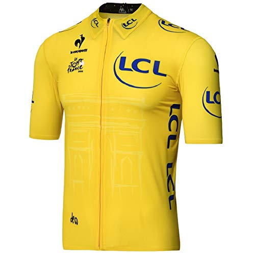 Le coq Sportif Trikot Tour de France Premium Authentic Jersey 2015- Gelb gelb L