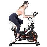 VIGBODY Stationary Exercise Bike Indoor Cycling Bike for Cardio...