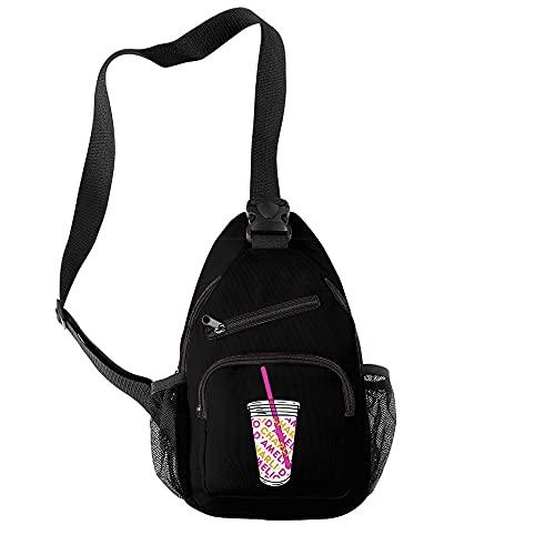 TIEHH Viajes Cross Body Bolsa Girl Messenger Bag Bolsas de Pecho Bolsa de Crossbody Estudiantes Paquete Diagonal Paquete Hombro Bolsas de la Escuela de Hombro La Bolsa de un Solo Hombro