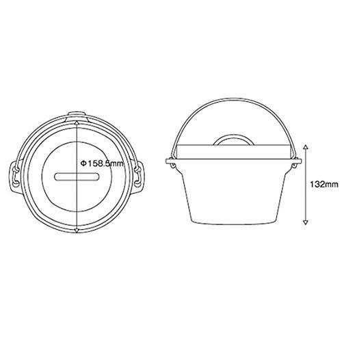 テンマクデザイン『アルミダッチオーブン』