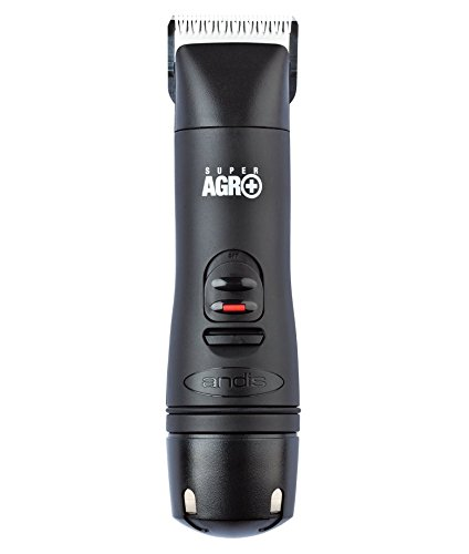 Andis Super AGR+ Cordless Detachable Blade Clipper, Professional Equine and Livestock Grooming, AGR+ (63855)