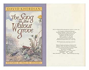 Song in Walnut Grove 0394855191 Book Cover