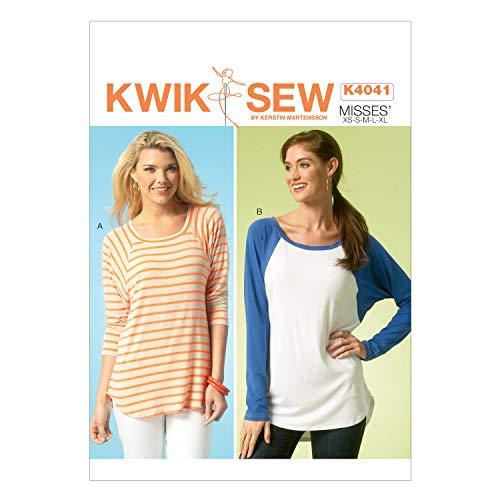 Kwik-SEW Pattern Damen Tops, alle Größen, K4041
