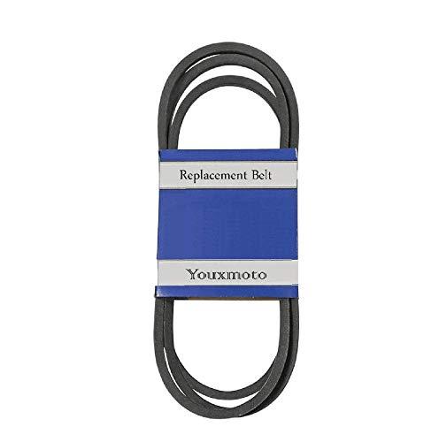 Youxmoto Lawn Mower Deck Blade Drive Belt 1/2'x115-5/8' for John Deere Sabre Scotts M124895 S1742 S1642 S1542