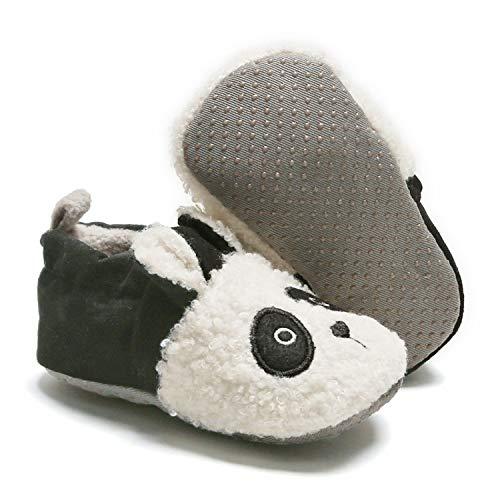 Baby Girl Booties Newborn Girl Boy Cozy Winter Warm Socks Toddler Slippers Soft Sole Crib Fleece Shoes