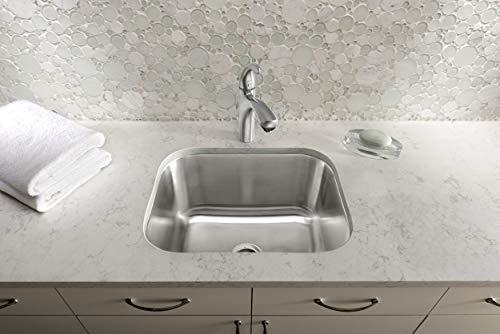 "BLANCO, Stainless Steel 441398 STELLAR Undermount Utility Laundry Sink, 23"" X 17.75"""