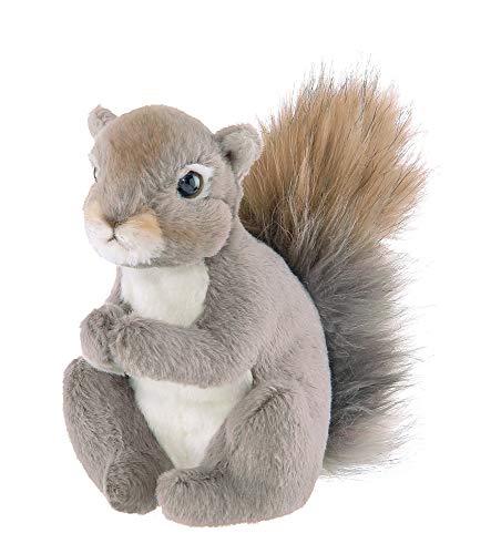 Bearington Lil' Peanut Plush Stuffed Animal Squirrel, 7 inches