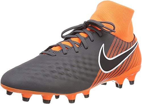 Nike Herren Magista Obra 2 Academy DF FG AH7303 Fitnessschuhe, Mehrfarbig (Dark Grey/Black-Tota 080), 44.5 EU