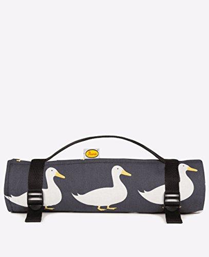 Unbekannt Anorak planschend Enten Große Picknick Decke (Schwarz)