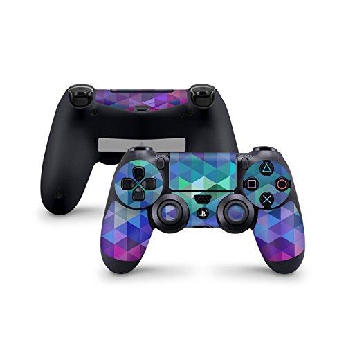 Skins4u Controller Aufkleber Design Schutzfolie Skin kompatibel mit Sony Playstation 4 PS4 Charmed Diamond
