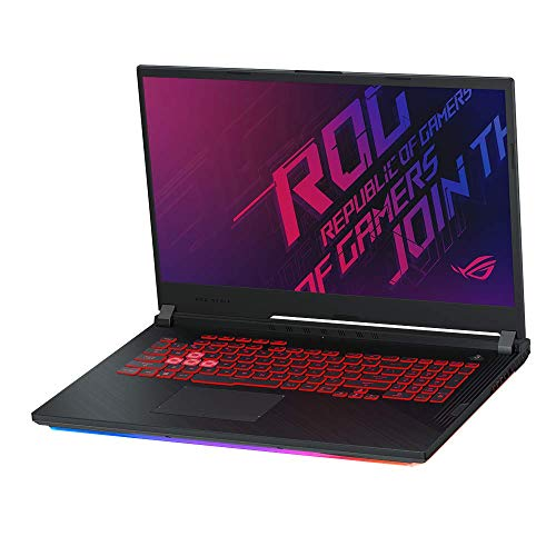 ASUS ROG Strix G731GT (90NR0223-M02060) 43,9 cm (17,3 Zoll, Full HD, vIPS, matt) Gaming-Notebook (Intel Core i5-9300H, 8GB RAM, 512GB SSD, NVIDIA GeForce GTX1650 (4GB), Windows 10) Black