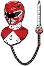 Lineage Studios Mighty Morphin Power Rangers Red Ranger Lapel Pin Set