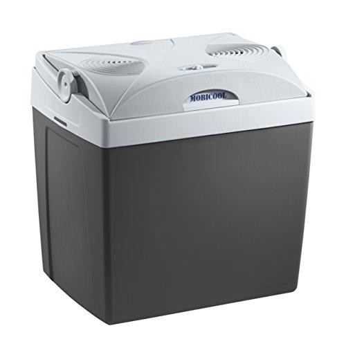 MOBICOOL Elektrische Kühlbox für Auto, Grau, 25 Liter