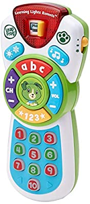 LeapFrog Scout's Learning Lights Remote, Musical Baby Toy, Baby Toy with Lights, Sounds, Numbers & Letters, Interactive Educational Toy for Children 6 months+, 1, 2, 3, 4 Year Olds Boys & Girls by Vtech