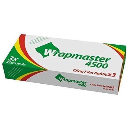 Folie Pergament Nachf/üllen 3 x Aluminium Foil Refills mit oder ohne Klebe Film Wrapmaster 3000 Spender We Can Source It Ltd