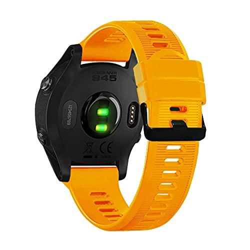 AISPORTS Correa de Reloj Quickfit de 22mm Compatible con Garmin Fenix 6 Correa Silicona,Correa Deportiva de Repuesto para Garmin Fenix 5/5 Plus/Fenix 6/6 Pro/Forerunner 935/945/Approach S60/Quatix 5
