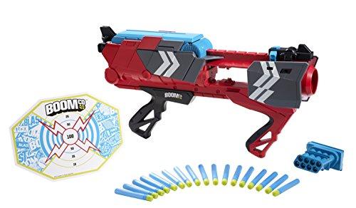 Mattel Boomco CBP42 - Stealth Ambush, Blaster inklusive 16 Smart Stick-Pfeilen mit selbstklebender Rückseite