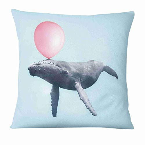 Home Pillow Decoration Super Soft Velvet Cushion Fresh Animal Printed Cushion Decorative Pillow Sofa,5,45x45cm