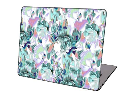 Laptop Case for MacBook Air 13 inch Model A1369/A466,Neo-wows Plastic Ultra Slim Light Hard Shell Cover Compatible MacBook Air 13 Inch No Touch ID,Flower 109