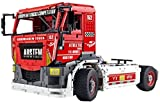 Technic Truck Building Set, 2.4Ghz / App RC Pneumatic Race Truck MkII Modelo Juguete construcción, Mold King 13152, 2638 + Piezas Bloques construcción compatibles con Lego Technic