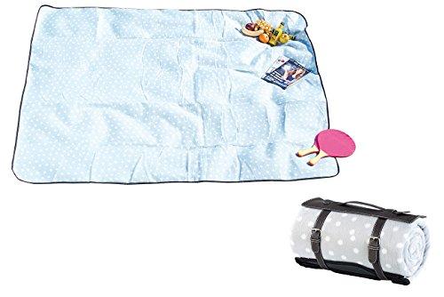 Wilson Gabor wasserdichte Decke: Wasserabweisende Fleece-Picknick-Decke, 175 x 200 cm (Picknickdecke wasserdicht)