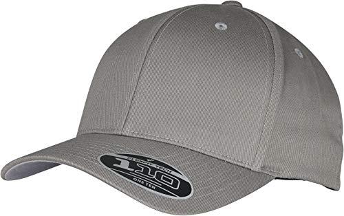 Flexfit Unisex Wooly Combed Adjustable Baseball Cap, Grey, one Size
