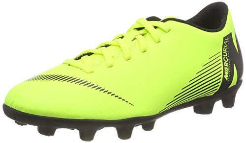 Nike Vapor 12 Club Mg, Unisex Adult's Footbal Shoes Footbal Shoes, Green (Volt/Black 701), 11.5 UK (47 EU)