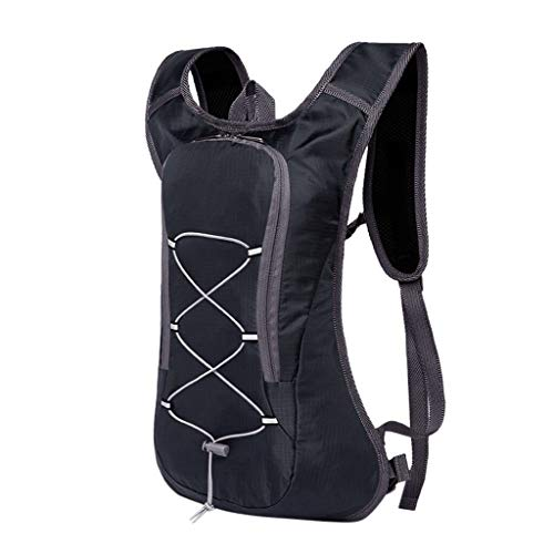 ILZONF 5l Travel Cycling Backpack Sports Bike Bag Ultralight Pouch Outdoor Camping Hiking Trekk Mountain Climb Bicycle Rucksack