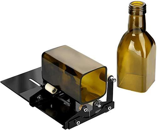 Glasflaschenschneider, quadratische und runde Flaschenschneidemaschine, Weinflaschen- und Bierflaschenschneider mit...