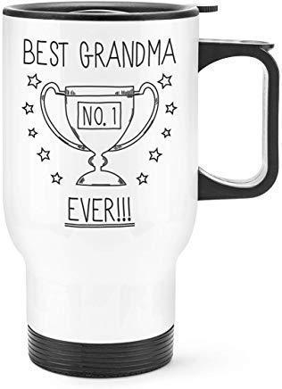 N\A Meilleure Tasse de Voyage trophée Grand-mère jamais n...