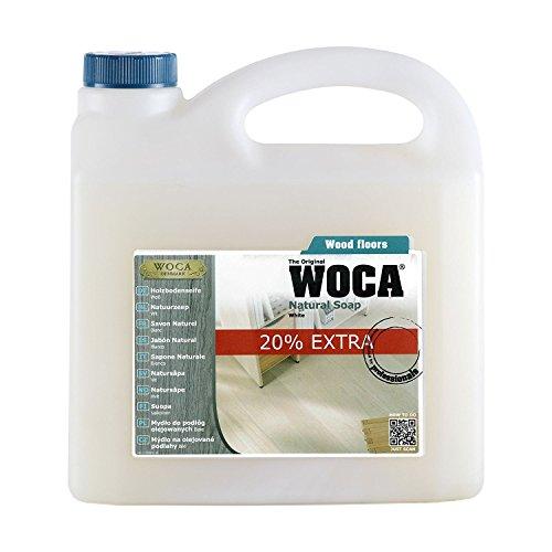WOCA Holzbodenseife 3 Liter weiß