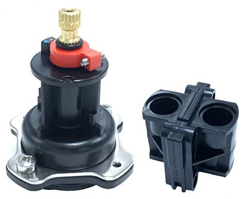 "GP76851 Mixer Cap and Pressure Balancing Unit Cartridge Replacement Kit GP77759+GP500520 for Kohler Rite-Temp 1/2"" Shower Valves"
